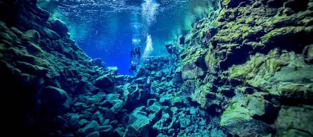 Buceo en Islandia