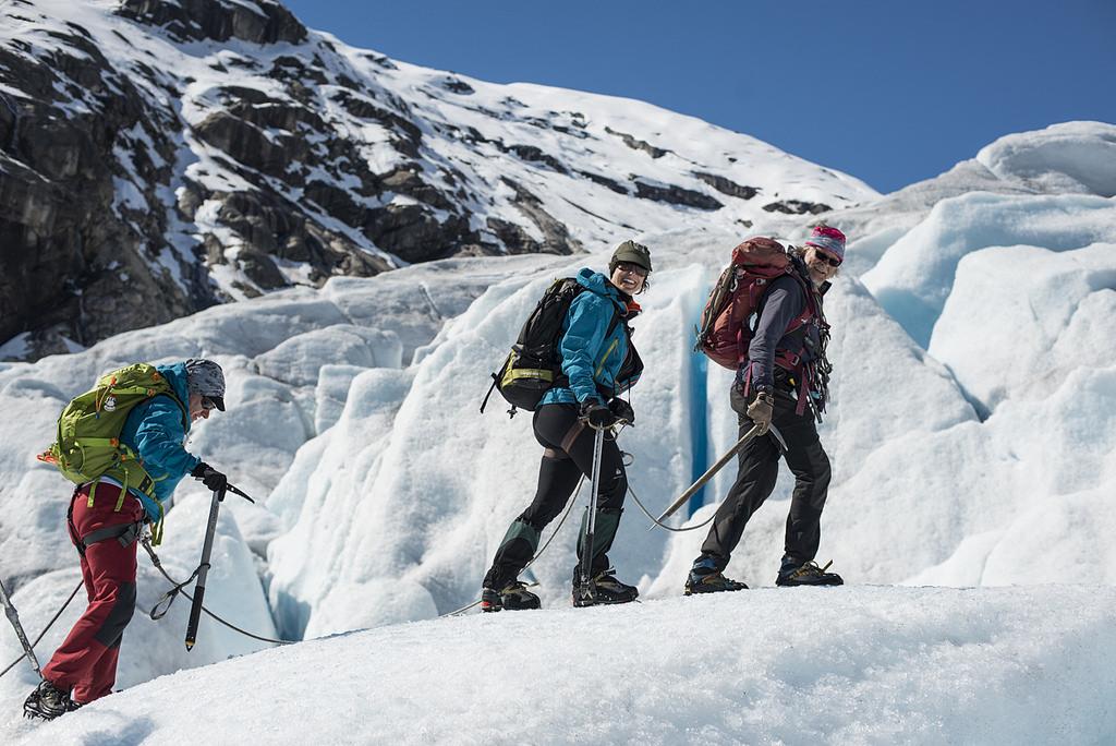 Trekking en el Glaciar Jostedal de Noruega - Raúl Moreno