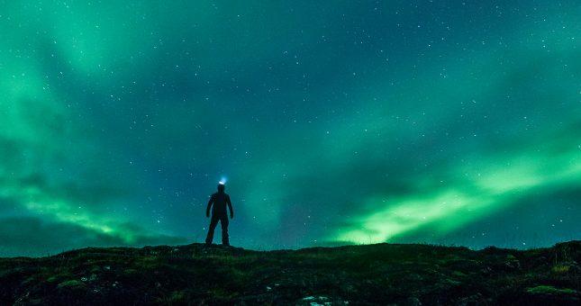 Auroras Boreales - Arctic Yeti