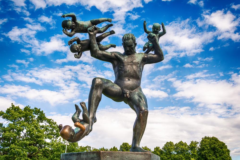 Escultura del Parque Vigeland - Oslo, Noruega