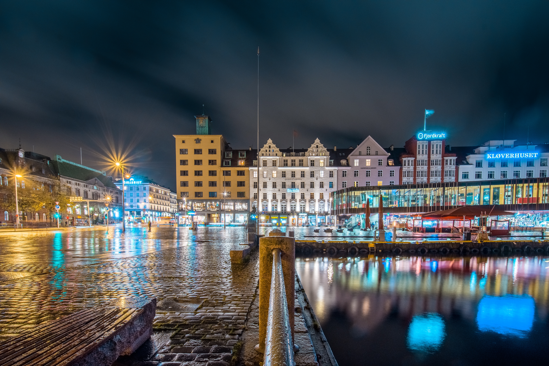 Bergen, la segunda ciudad más grande de Noruega