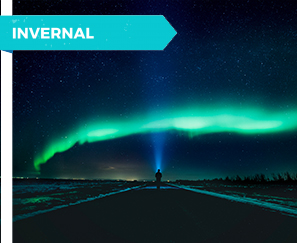"Aurora Boreal ""Arcoíris"" verde"