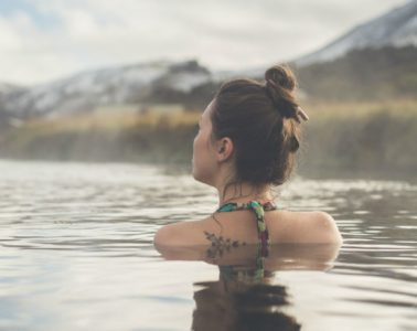 Piscinas de aguas termales de Landmannalaugar
