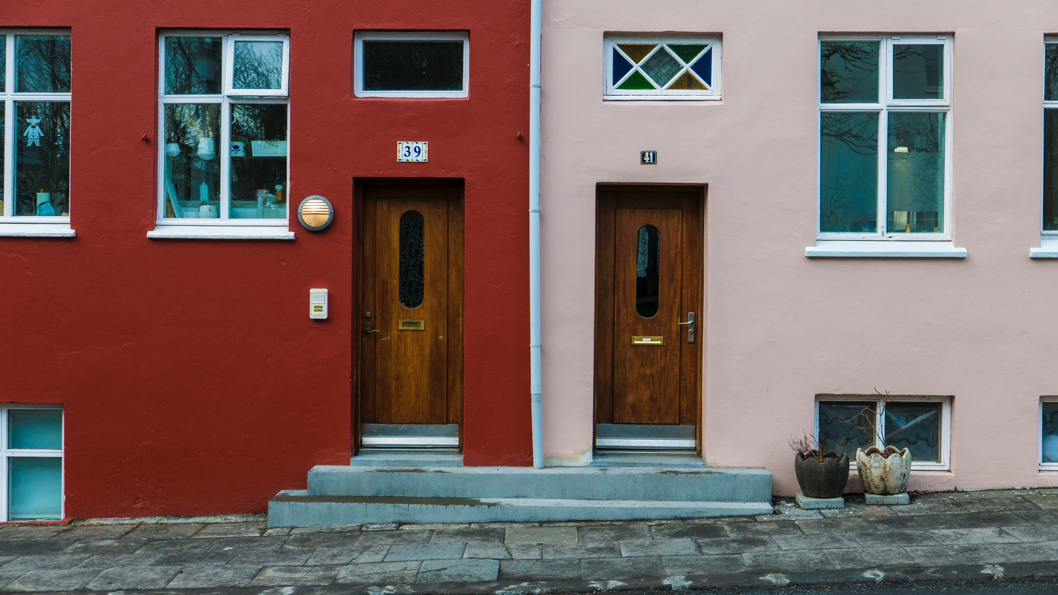 Viviendas típicas en Reykjavik
