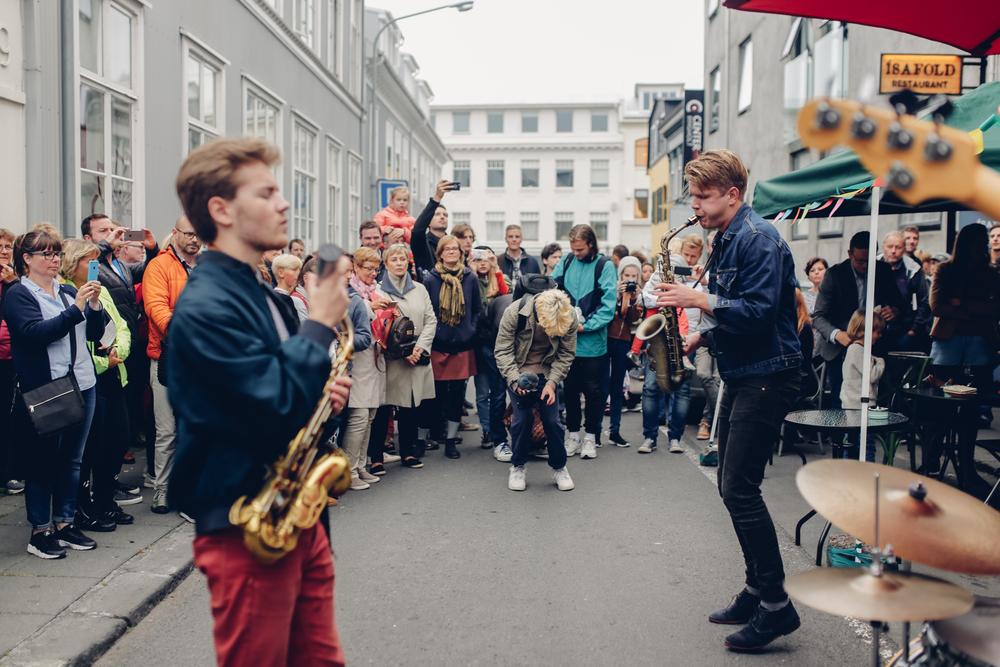 Festival del arte y la cultura en Reykjavik