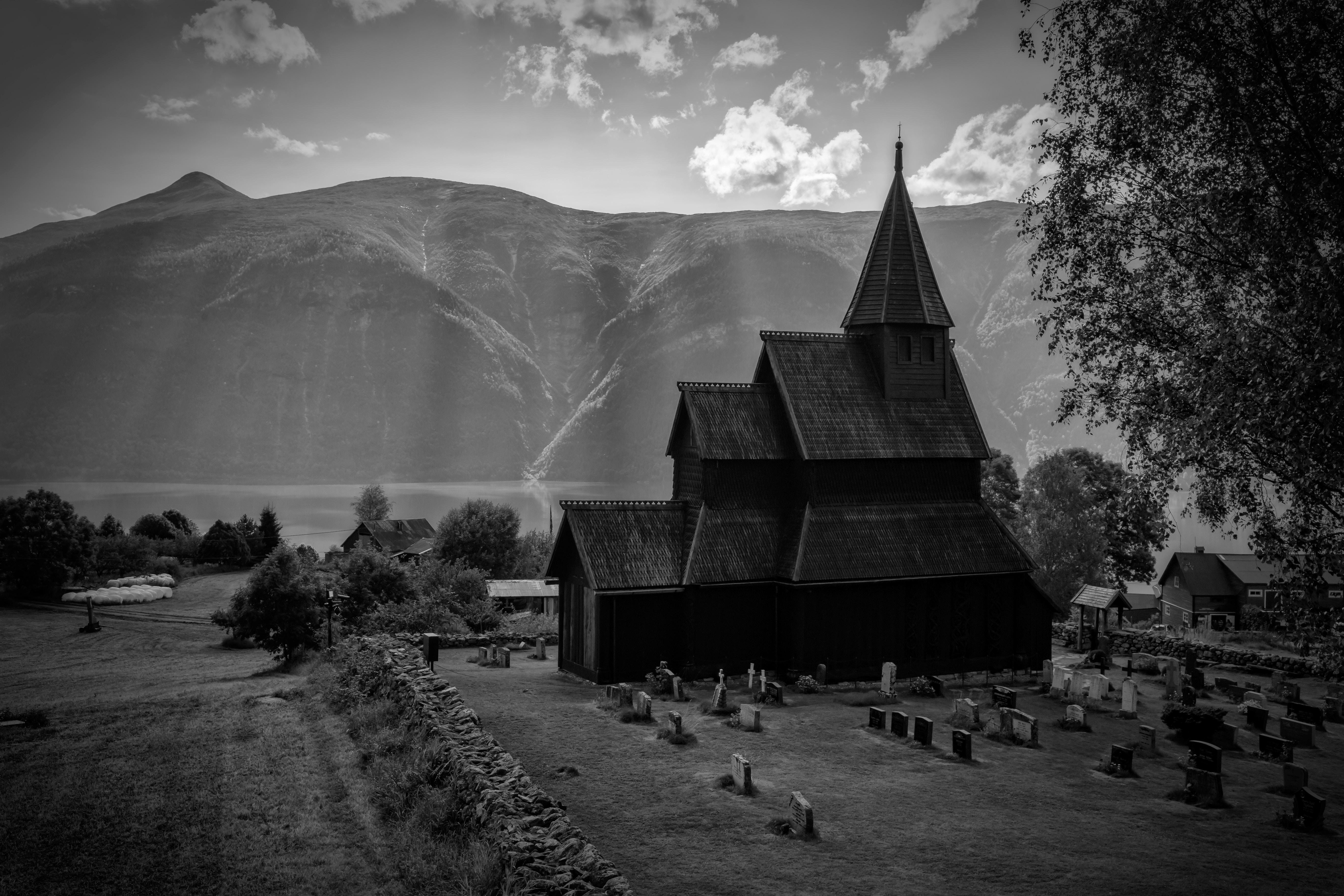 Vista de Stavkirke