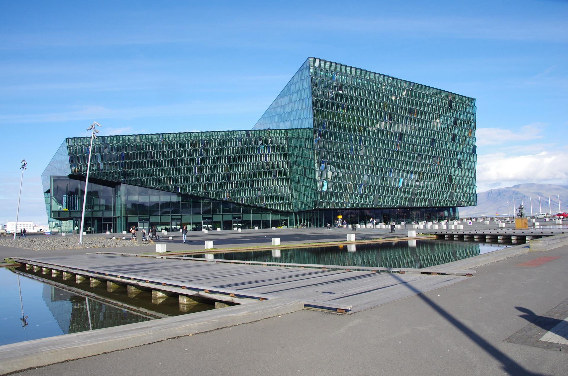 Ver el edificio Harpa