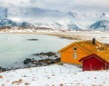 Islas Lofoten en invierno