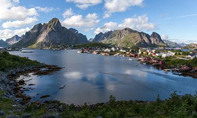 Lofoten en el norte de Noruega