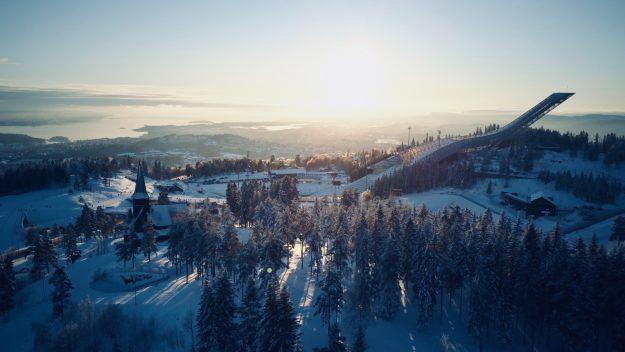 Holmenkollen museo de esquí Oslo Noruega