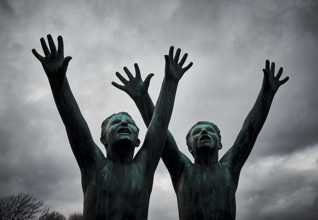 Escultura parque Vigeland Oslo