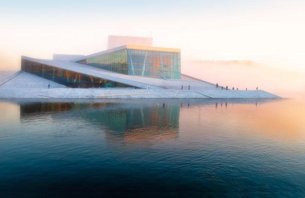 Ópera de Oslo en Noruega