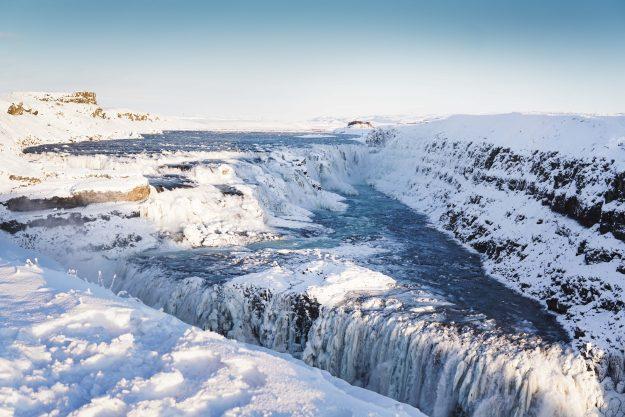 Gullfoss Islandia Círculo Dorado