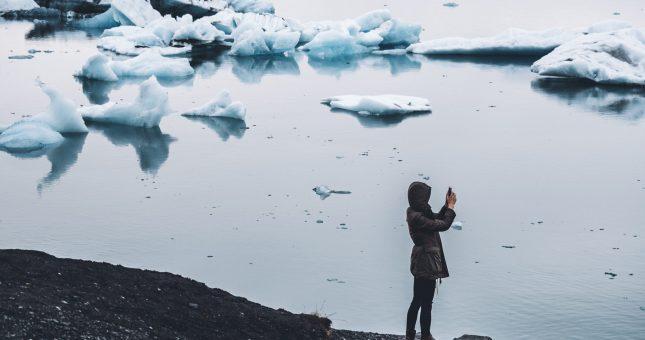 Foto laguna Jökulsárlón