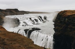 Cascada Gullfoss Islandia Círculo Dorado