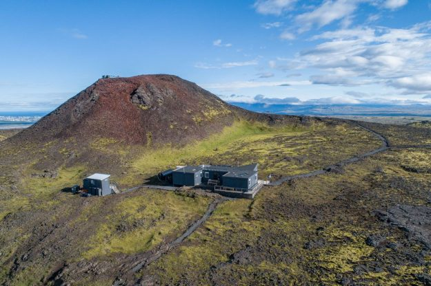 Volcán Islandia vista general