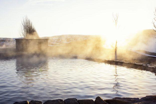 Laguna Secreta en Islandia