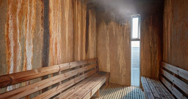 Spa de aguas termales Laugarvatn Fontana en Islandia