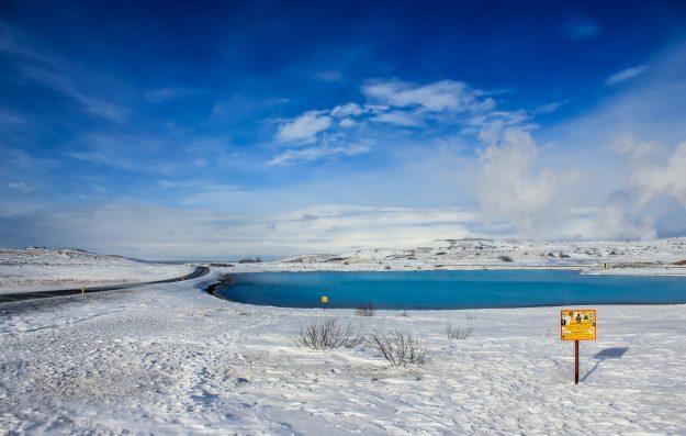 Baños naturales de Mývatn