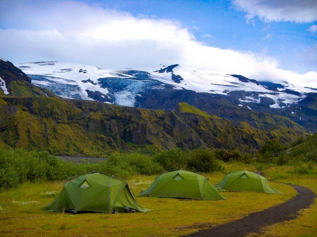 Normativa de camping en Islandia