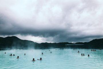 Baños termales en Islandia