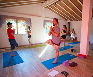Retiro iniciación tantra yoga - Sala Luz 2