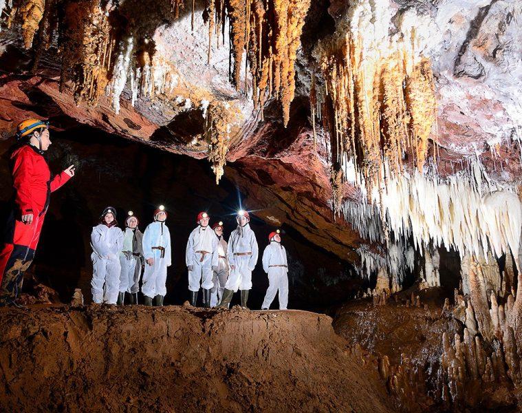 Visita a las cuevas de El Soplao