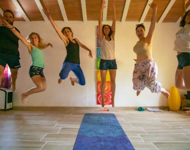 Retiro iniciación tantra yoga - Sala Luz