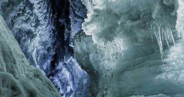 Cueva de hielo en Islandia - Glaciar Langjökull desde Húsafell