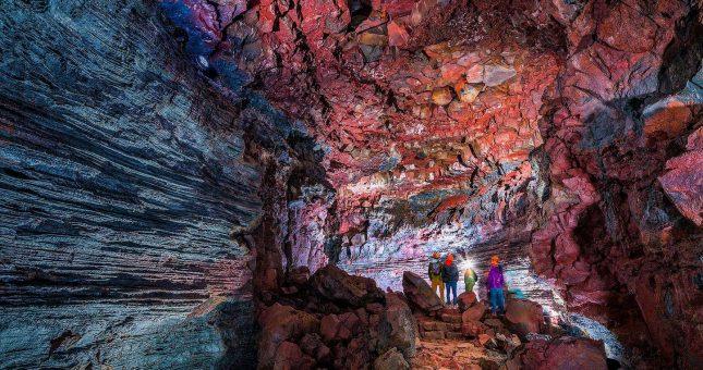 Cueva The Lava Tunnel - Raufarholshellir - Islandia