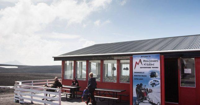 Moto de Nieve en Langjökull - Islandia